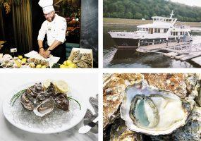 Austriu degustacija laive Perlas