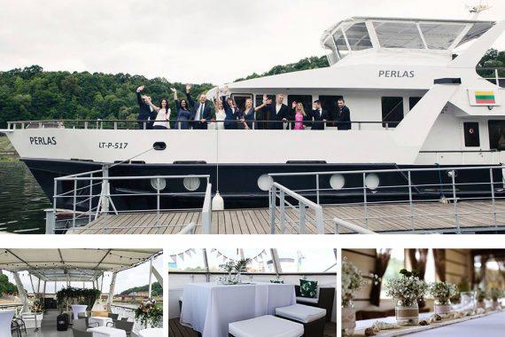 Laivu nuoma laivas Perlas